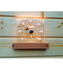 LED termometer Saunia