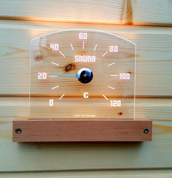 Saunia LED-termometrs..