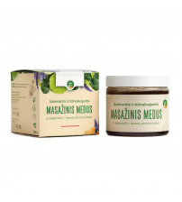 Un miel de massage rafraîchissant et stimulant