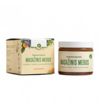 Een verfrissende en stimulerende honingmassage
