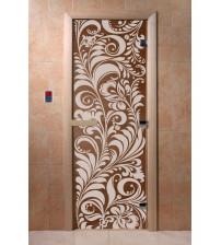 Γυάλινες πόρτες σάουνας - Garten, χάλκινο