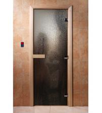 Puerta de sauna de vidrio con película fotográfica A010