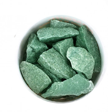 Piedras de jadeíta..