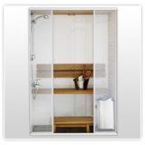 Duchas y cabinas de ducha.