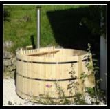 Runde badekar