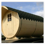 Fûts de sauna