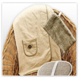 Textiles para sauna