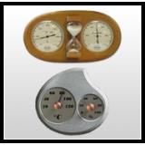 Sauna-termo og hygrometre