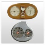 Termometro per sauna e igrometri