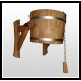 Seaux de douche sauna