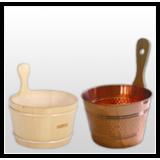 Buckets, pails, basins