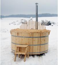 Gran varmt karbad, 220 cm