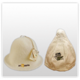 Sombreros de sauna