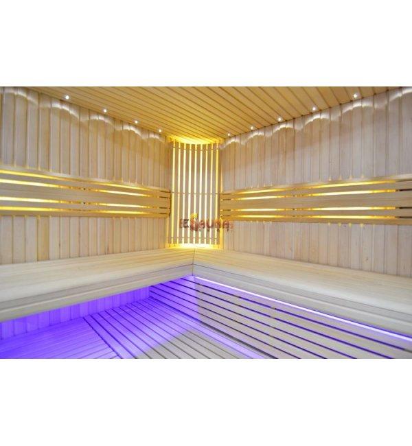 sauna led beleuchtung moon. Black Bedroom Furniture Sets. Home Design Ideas