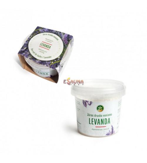 Sea salt for saunas, Lavender