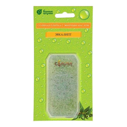 ESalt Sauna Tile with Essential Oils - Eucalyptus