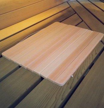 Siège de sauna..