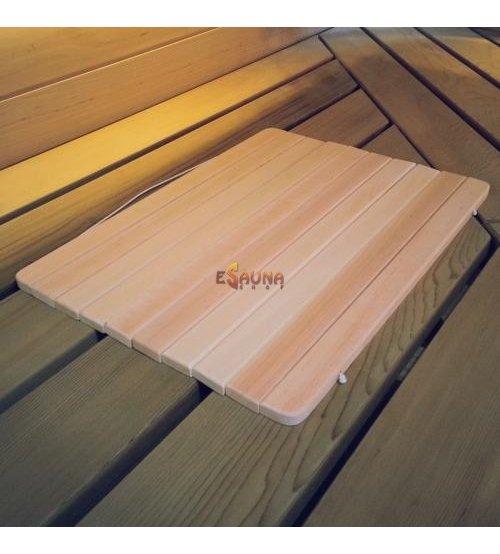Asiento de sauna