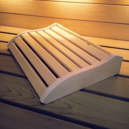Sauna nakkestøtte