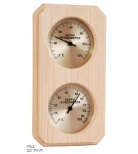 Vertical box type thermo-hygrometer