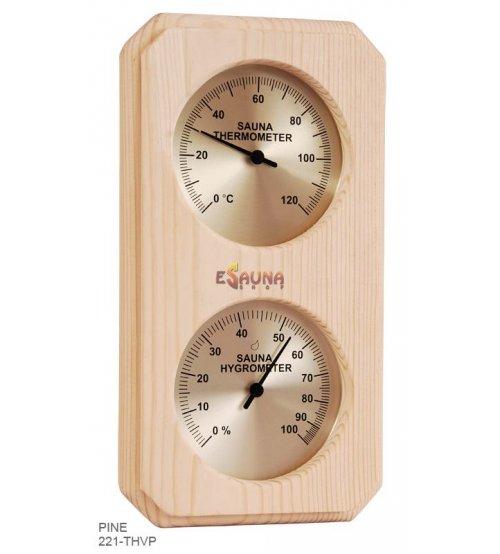 Sawo termometras-higrometras 221-THVP