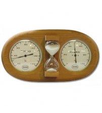 Saunia 3-В-1 Термогигрометр-Песочные Часы