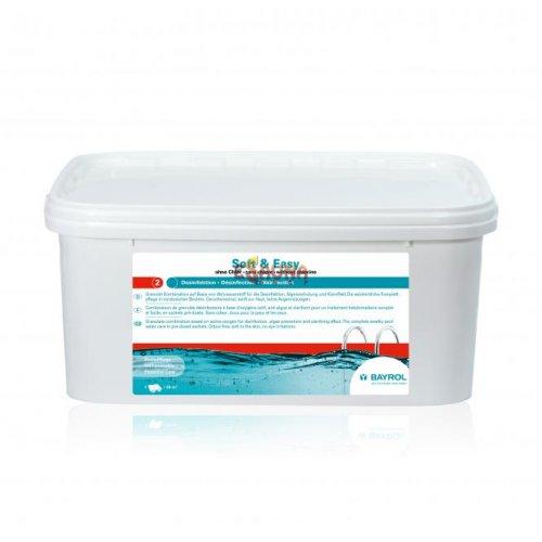 Baseinų priežiūros priemonė BE CHLORO Soft & Easy, 4,48 kg,
