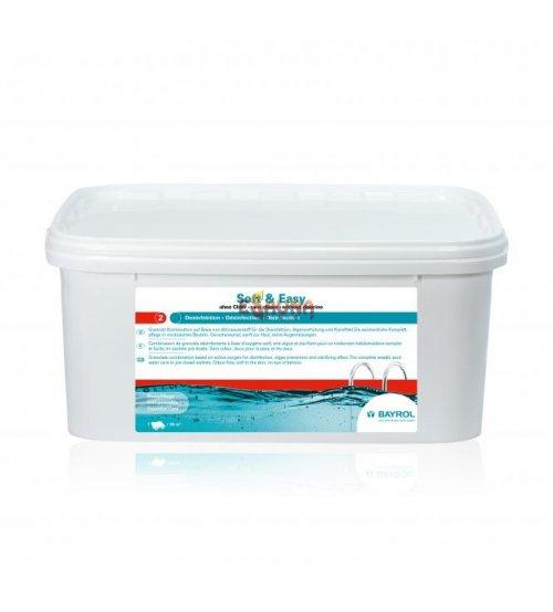 Poolunderhållsverktyg Soft & Easy, INGEN KLOR, 4,48 kg