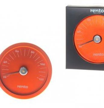 Rento sauna thermometer..