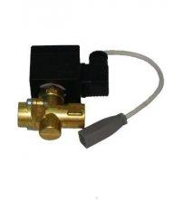 Automatic rinsing valve