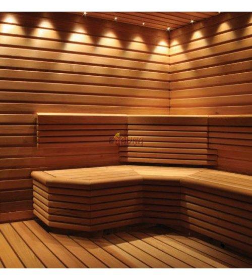Conjuntos de iluminación para sauna VPL20-F325 CARIITTI