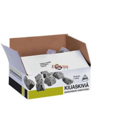 Оливин диабаз камни 20 кг, 5 - 10 цм