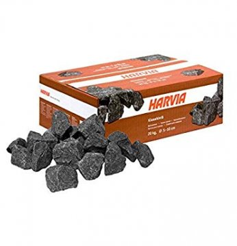 Harvia akmenys, 5-10 cm..
