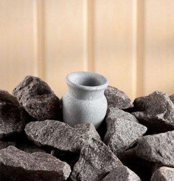 Akmeninis kvapų indelis..