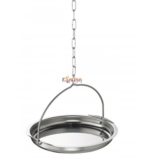 Aroma bowl, stainless steel
