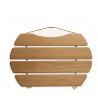 Sauna bench sea, thermo aspen