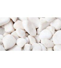 Hvide sauna sten