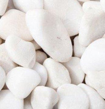 Hvide sauna sten..