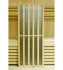 Harvia houten frame voor koolstof infrarood verwarming Elelemnts