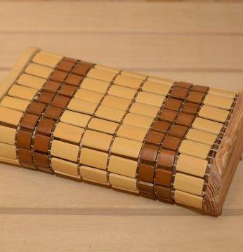 Appui-tête en bambou..