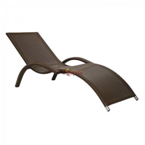 Chase-longue Meridian, Coffee in Sauna and SPA furniture on Esaunashop.com online sauna store