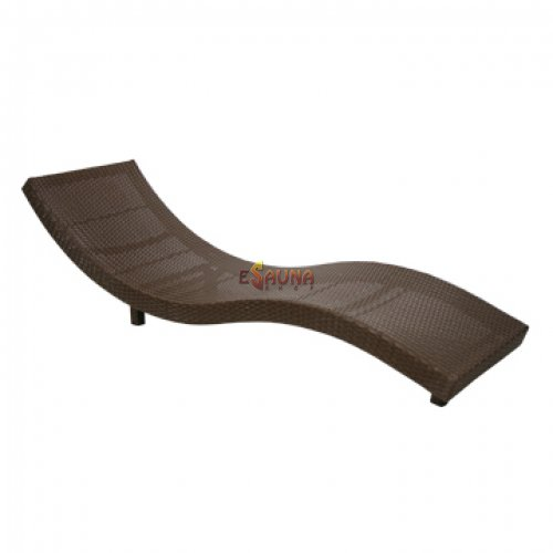 Chase-longue Wave, Coffee in Sauna and SPA furniture on Esaunashop.com online sauna store