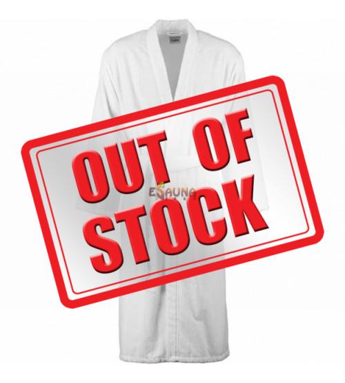 Terrycloth bathrobe