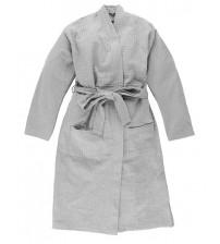 Халат за баня, L / XL, Светло сиво