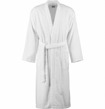 Terrycloth bathrobe..