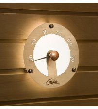 Sauna light CARIITTI thermometer