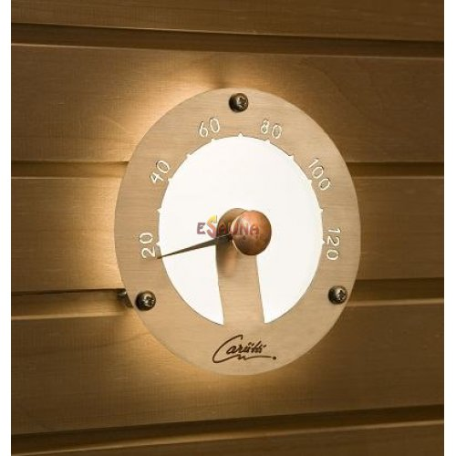 Sauna light CARIITTI thermometer