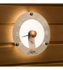 Sauna licht Cariitti hygrometer