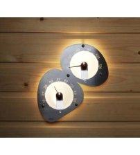 Sauna licht Cariitti thermohygrometer