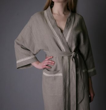 короткий халат белья..